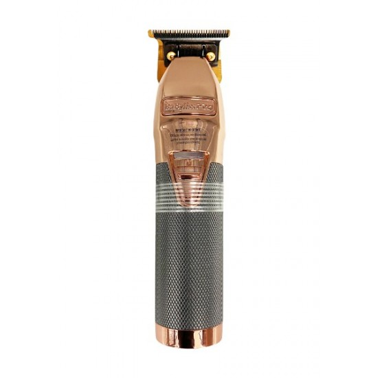 Babyliss Pro Rose Fx Metal Lithium Outlining Hair Trimmer Cordless Fx787rg Rose