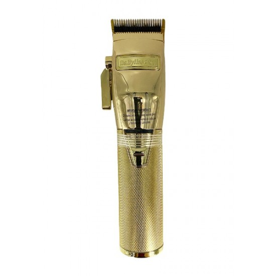 Babyliss Pro Gold Fx Metal Lithium Hair Clipper Cordless Fx870g Gold