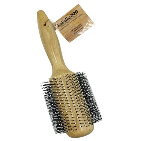 Babyliss Pro Blow Dry Wood Hair Brush 1 3/4