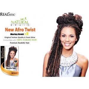 "Beauty Element Synthetic Hair Crochet Braid Afro Twist 48"""