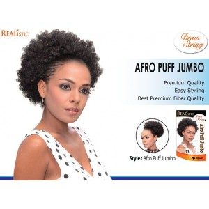 Beauty Element Snythetic Draw String Afro Puff Jumbo