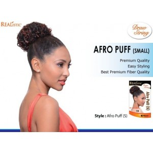 Beauty Element Synthetic Draw String Afro Puff Small