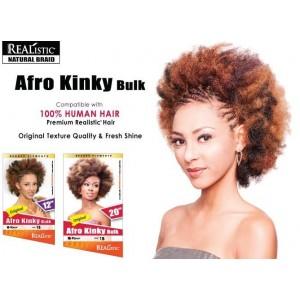 "Beauty Element Synthetic Hair Crochet Braid Afro Kinky Bulk 12"""