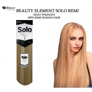 Bijoux Beauty Element Solo Silky Straight 100% Remi Human Hair Weave 24""
