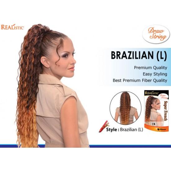Beauty Element Synthetic Heat Resistant Draw String Brazilian L