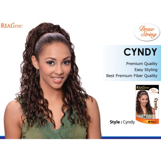 Beauty Element Synthetic Heat Resistant Draw String Cyndy