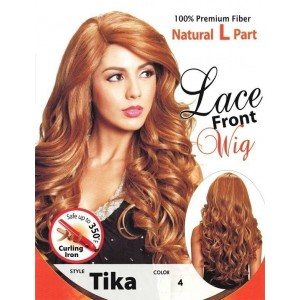 BIJOUX SYNTHETIC SWISS SILK BASE 4X4 LACE FRONT WIG TIKA
