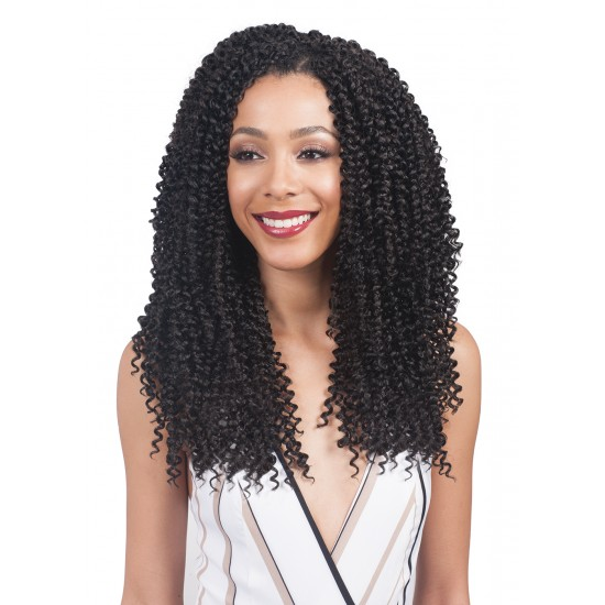 Bobbi Boss Synthetic Hair Crochet Braid 3x Multi Pack 10/12/14 Baby Soft