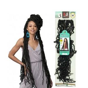 """Bobbi Boss Nu Locs Synthetic Hair Crochet Braid Loop 2x Nu Locs 36"""""""