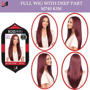 Bobbi Boss Synthetic Full Wig Deep Part M740 Kim