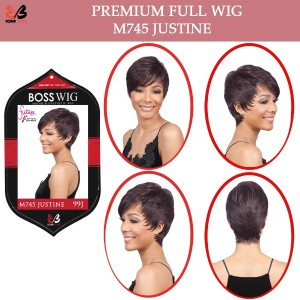 Bobbi Boss Synthetic Full Wig M745 Justine