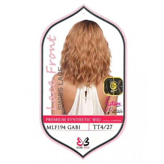 Bobbi Boss Synthetic Swiss Lace Front Deep Part Wig Mlf194 Gabi