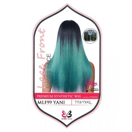 Bobbi Boss Synthetic Swiss Lace Front Deep Part Wig Mlf99 Yani
