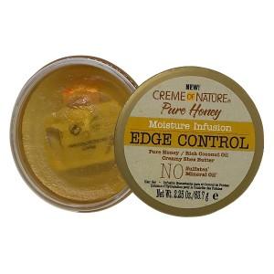 Creme Of Nature Pure Honey Moisture Infusion Edge Control 2.25 Oz