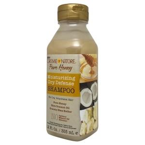 Creme Of Nature Pure Honey Moisturizing Dry Defense Shampoo 12 Oz