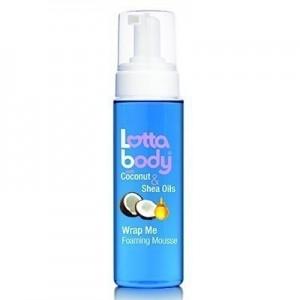 Lottabody With Coconut & Shea Oil Wrap Me Foaming Mousse