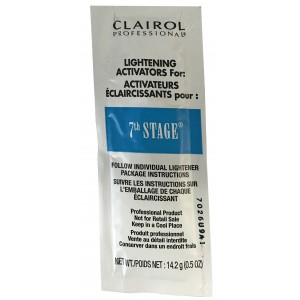 Clairol 7th Stage Hair Bleach Lightener Powder .05 Oz