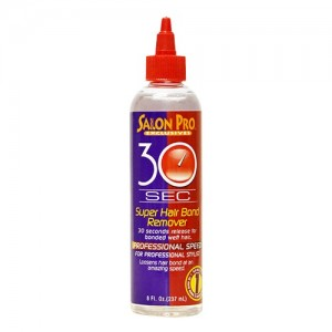 Salon Pro 30 Sec Super Hair Bond Remover Oil 8 Oz