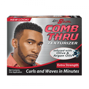 Lusters Scurl  Comb Thru Texturizer  Kit Extra Strenght 1 Applications