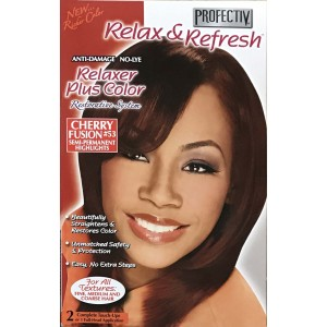 Profective Relaxer & Refresh Relaxer Plus Color Cherry Fusion 53