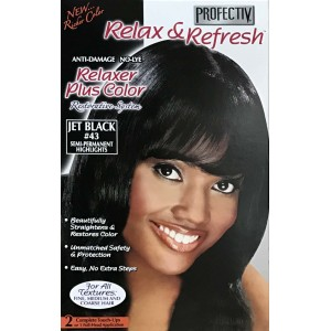 Profective Relaxer & Refresh Relaxer Plus Color Jet Black 43