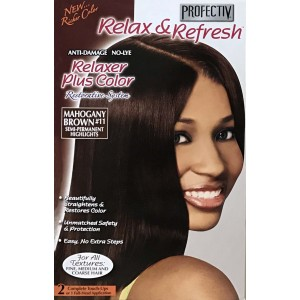 Profective Relaxer & Refresh Relaxer Plus Color Mahogany Brown 11