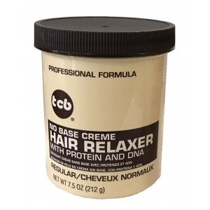 Tcb No Base Creme Hair Relaxer Regular 7.5 Oz
