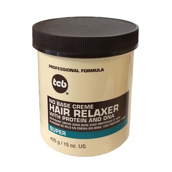 Tcb No Base Creme Hair Relaxer Super 15 Oz
