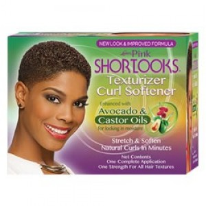 Lusters Pink Short Looks Texturizer Curl Softener Kit