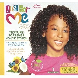 Just For Me Kids Texture Softener No Lye Kit