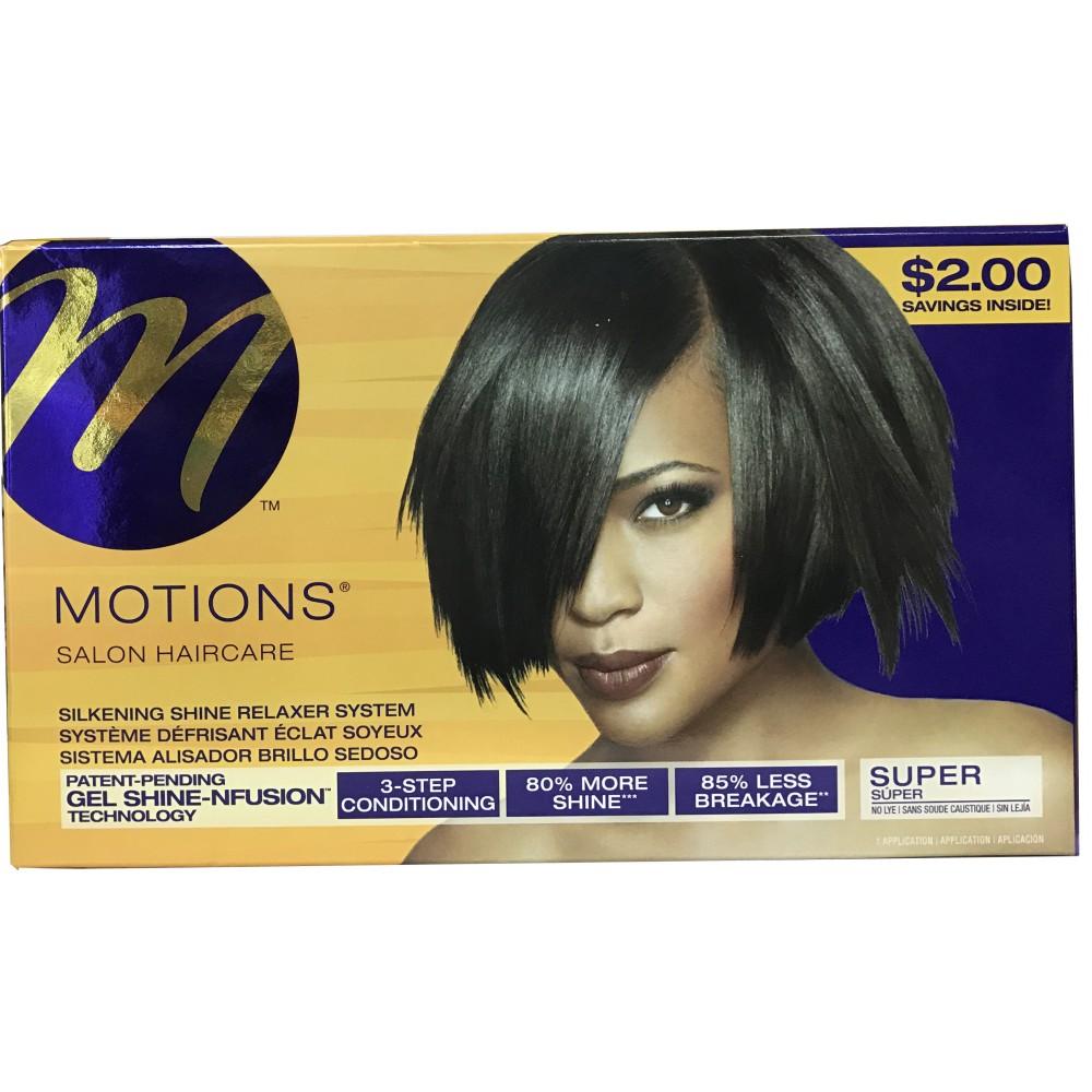 Motions Classic Formula Hair Relaxer Kit Super