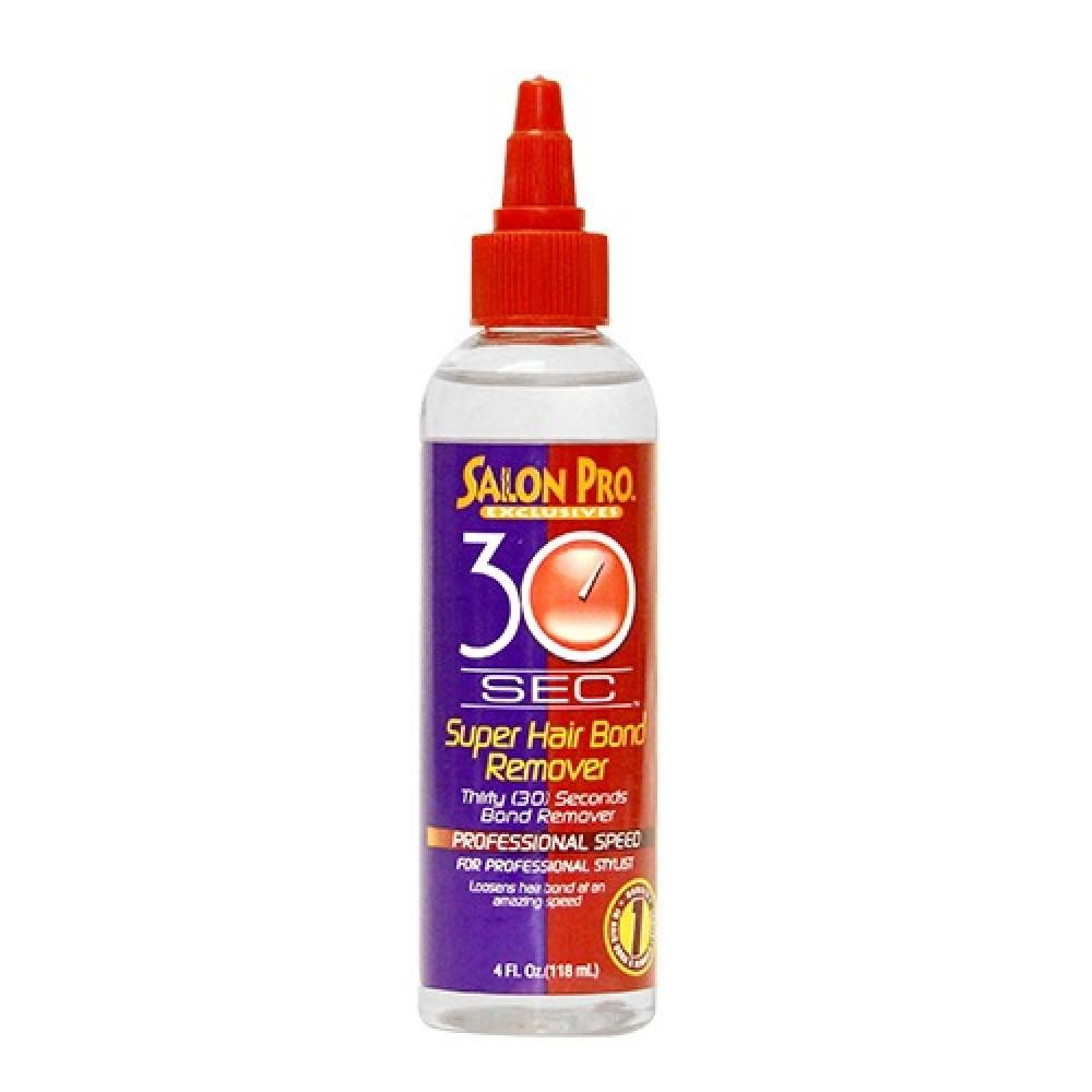 Salon Pro 30 Sec Super Hair Bond Remover Oil 4 Oz