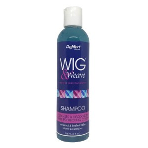 Demert Wig And Weave Shampoo Cleanses And Deodorizer While Protecting Color 8 Oz