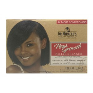 Dr Miracles New Growth No Lye Conditioning Relaxer Kit Regular