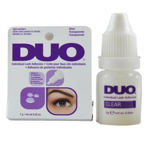 Duo Individual Lash Adhesive Eyelash Glue Clear .25 Oz