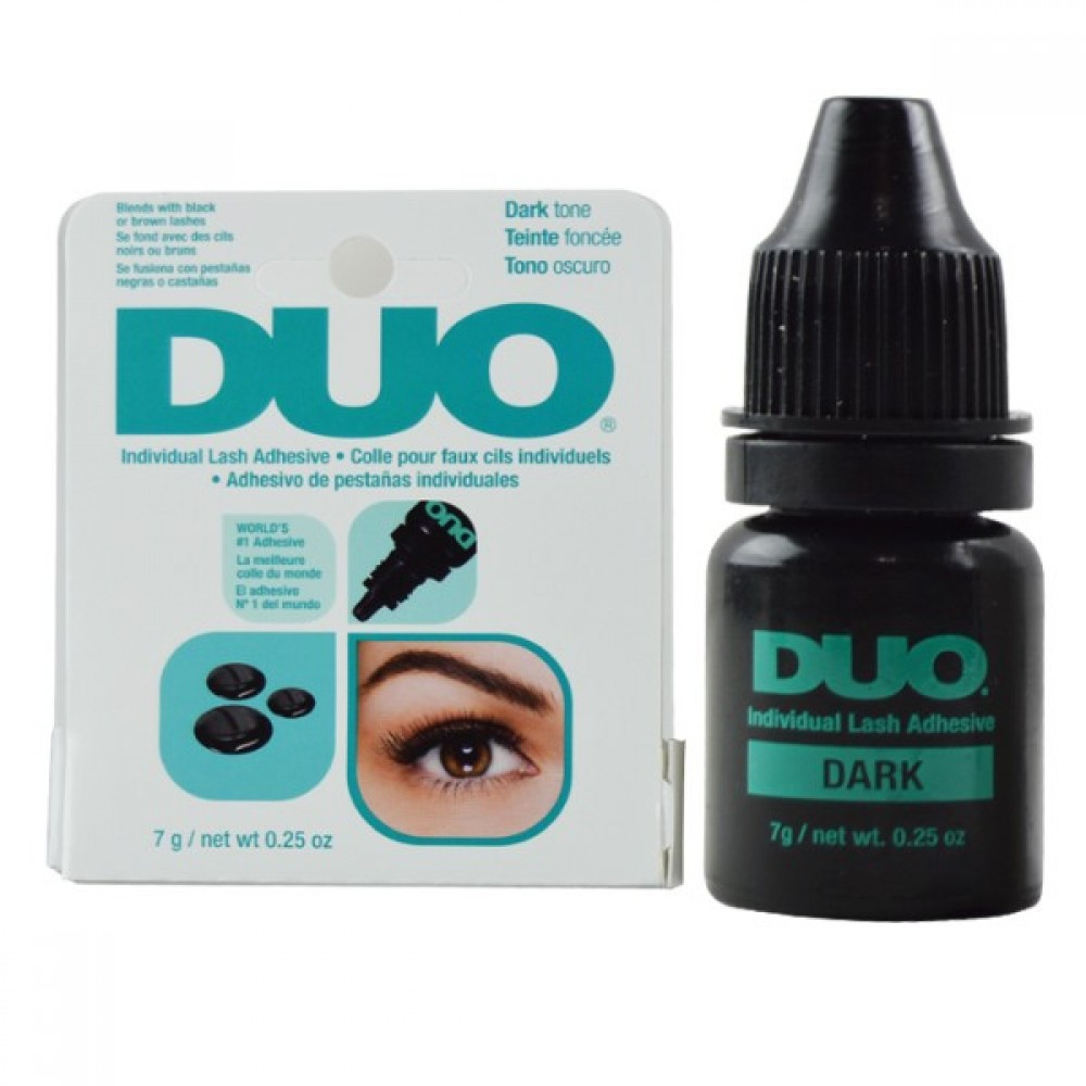 Duo Individual Lash Adhesive Eyelash Glue Dark .25 Oz