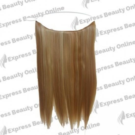 16 Elastic Hair - Human Hair Feel Extensions - Dark Brown (2)