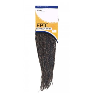 Epic Synthetic Hair Crochet Braid Egyptian Natural Twist 18""