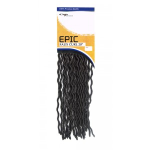 Epic Synthetic Hair Crochet Braid Loop Faux Curl 20""