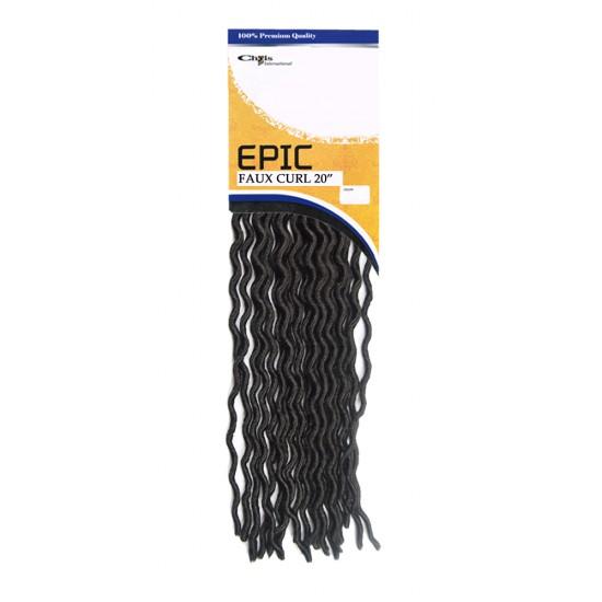 Epic Synthetic Hair Crochet Braid Loop Faux Curl 20