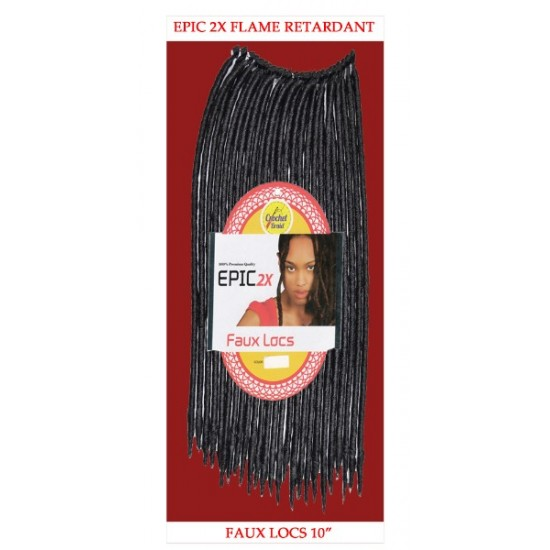 Epic Synthetic Hair Crochet Braid Loop Faux Locs 10