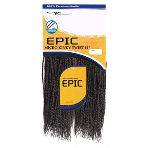 Epic Synthetic Hair Crochet Braid Micro Kinky Twist 14""