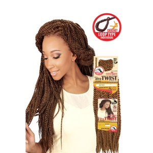 Eve Synthetic Hair Crochet Braid Loop Senegales Afro Twist L 20""
