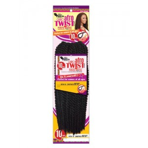 Eve Synthetic Hair Crochet Braid Loop Senegales Afro Twist 12""