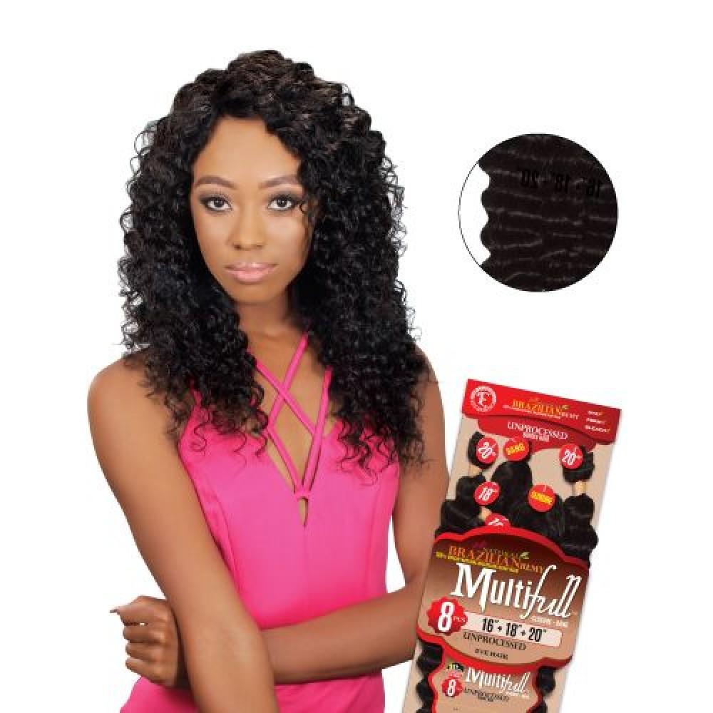 Eve 100% Unprocessed Brazilian Virgin Remy Human Hair Weave Deep Curl