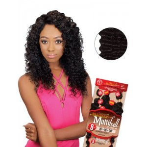 Eve 100% Unprocessed Brazilian Virgin Remy Human Hair Weave Deep Curl