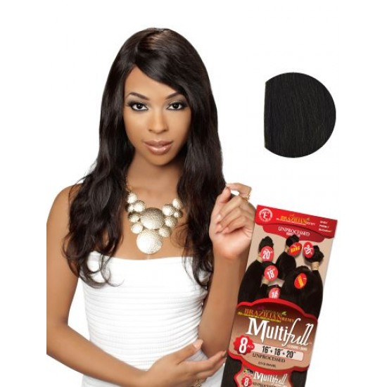 Eve 100% Unprocessed Brazilian Virgin Remy Human Hair Weave Natural Wave