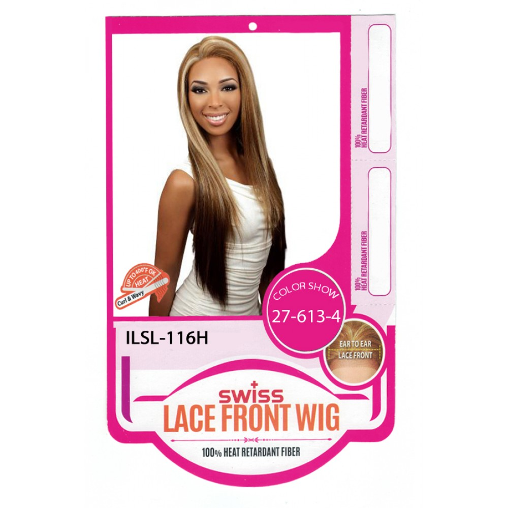 Hr True Wig Synthetic Swiss Lace Front Wig Ilsl116h