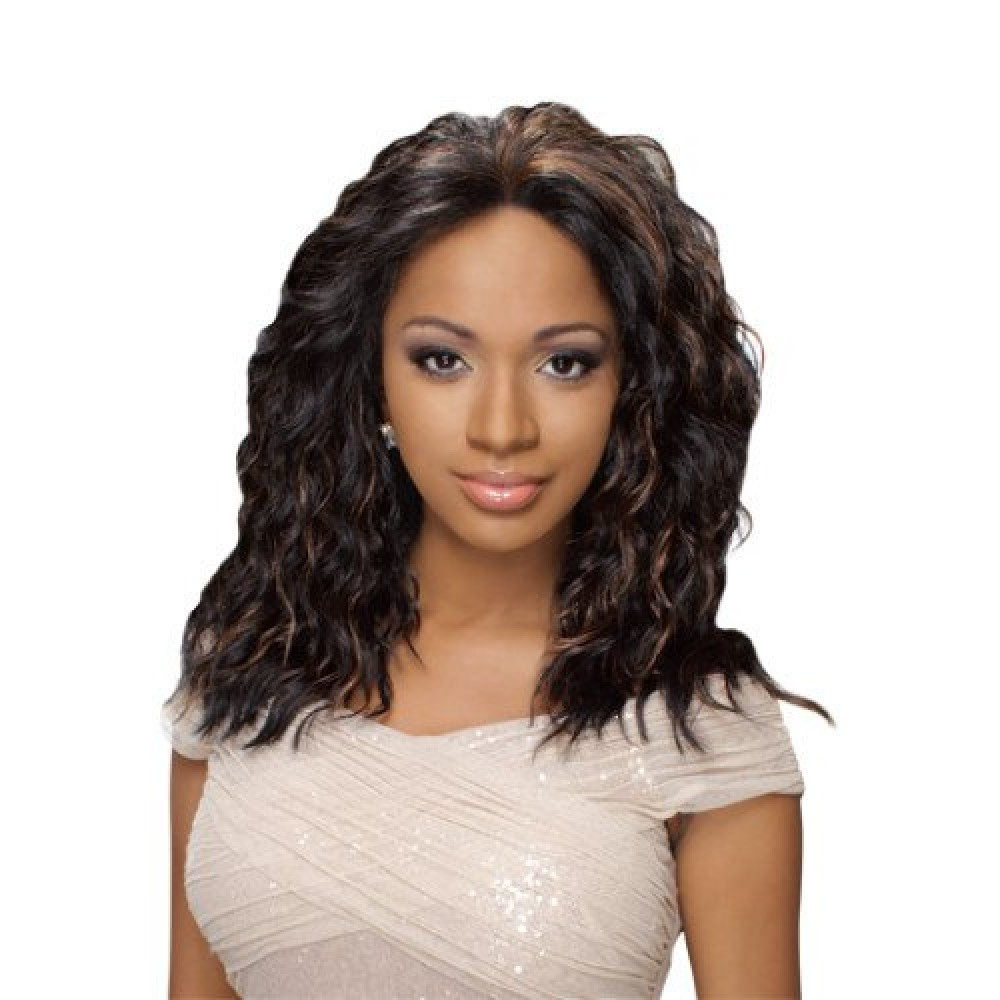 Hr True Wig Synthetic Swiss Lace Front Wig Nbs96