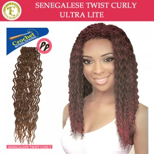 Eve Hair Synthetic Hair Crochet Braid Loop Senegalese Twist Curly Senc 20""